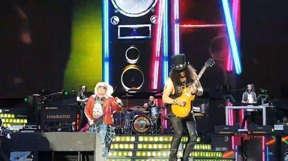 concierto Guns N Roses en Madrid