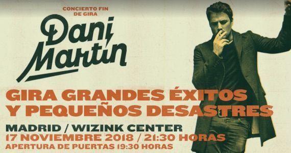 conciertos Dani Martín en Madrid