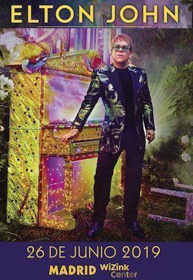 Elton John Madrid 2019