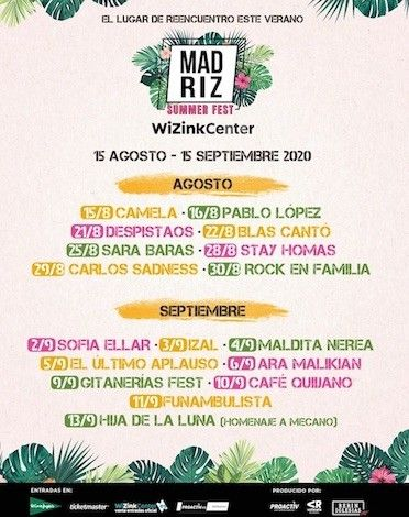 Festival Madrid 2020
